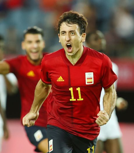 Olympisch voetbal: Spanje met Houdini-act naar halve finale, ook Antony door met Brazilië
