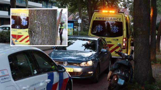 Scooterrijder knalt tegen boom en raakt gewond, sigaret blijft aan boomstam hangen
