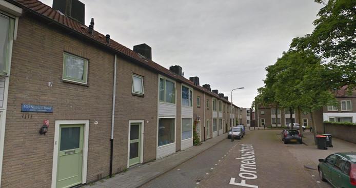De Fornebusstraat in Tilburg.