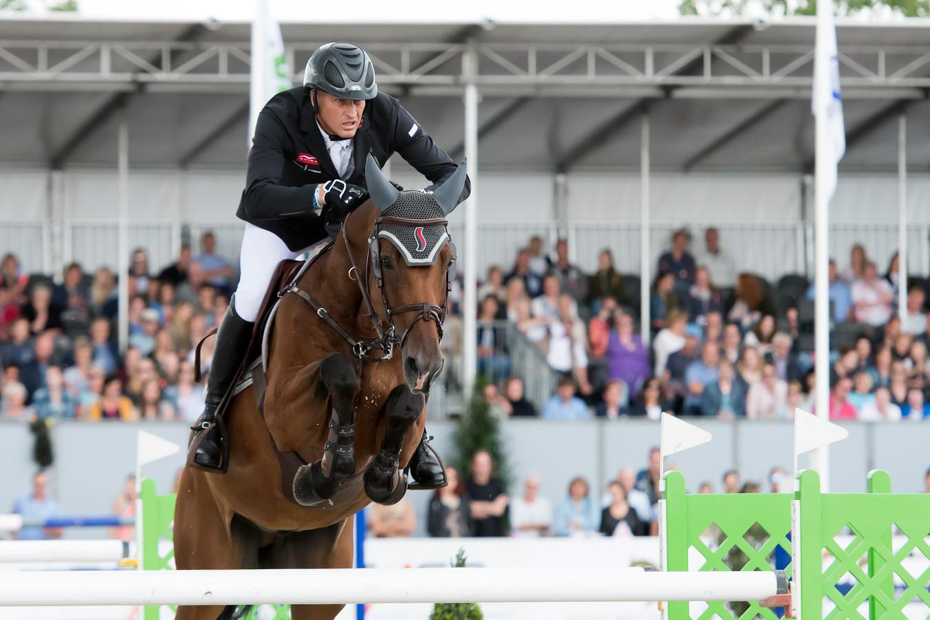 Marc Houtzager winnaar Grote Prijs Jumping Schröder Tubbergen 2019.