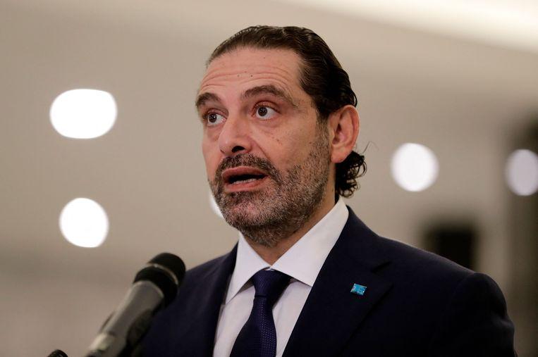 Saad Hariri. Beeld AFP