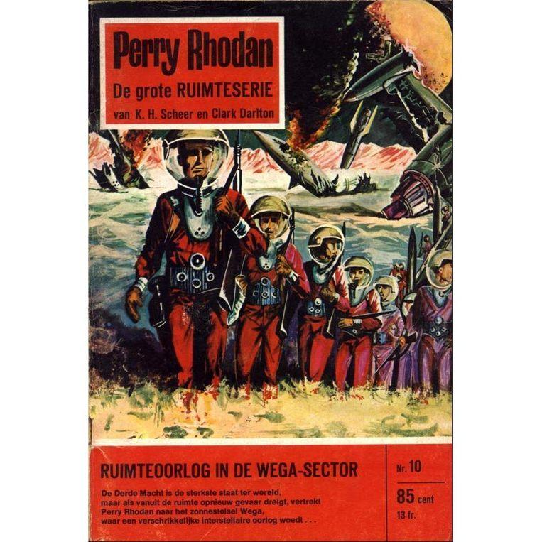 Deel 10 van de sciencefictionreeks 'Perry Rhodan'. Beeld