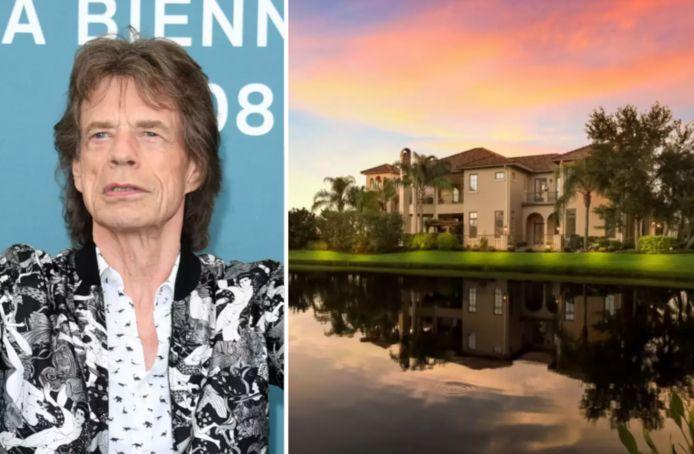 Mick Jagger kocht een villa voor zijn vriendin.