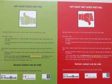 Wie zich niet goed voelt, zet rode kaart achter het raam: bijzonder initiatief in Tilburg