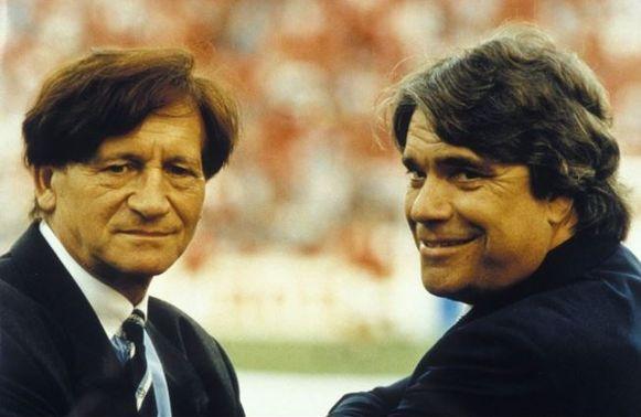 Goethals met Tapie voor de aftrap van de bewuste Champions League-finale in 1993.