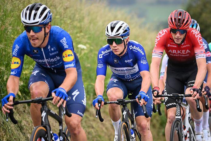 Le maillot bleu est bien installé sur les épaules de Remco Evenepoel avant la dernière étape.