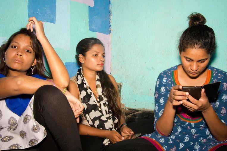 Het opvanghuis in Dadar. Beeld Lisa Klaverstijn