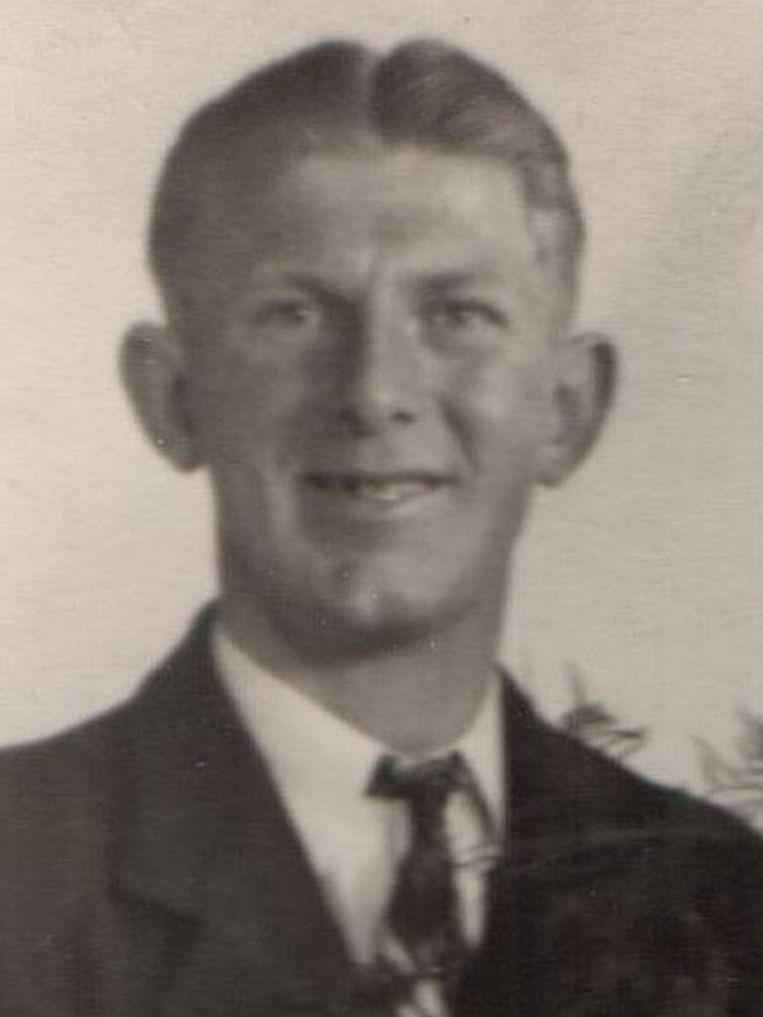 Martinus Spoel in 1942. Beeld Tiny Spoel