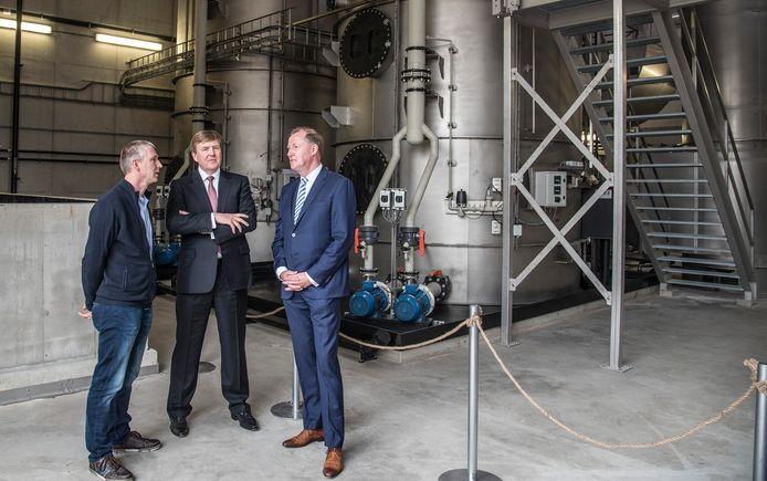 Koning Willem Alexander opende in 2018 nog een fabriek van CNC in Milsbeek.