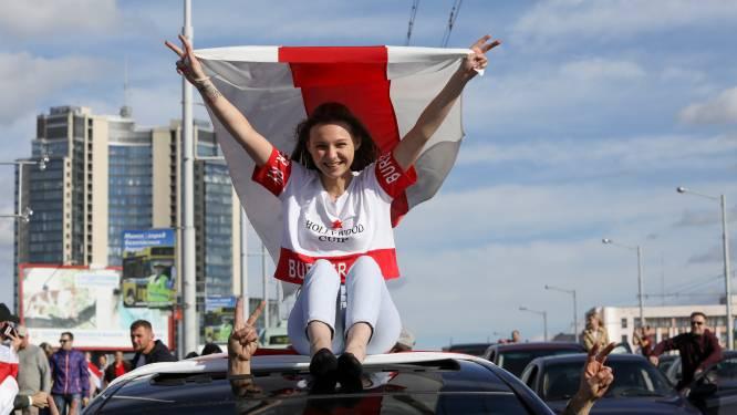 Vrouw opgepakt in Wit-Rusland omdat ze rood-witte sokken droeg