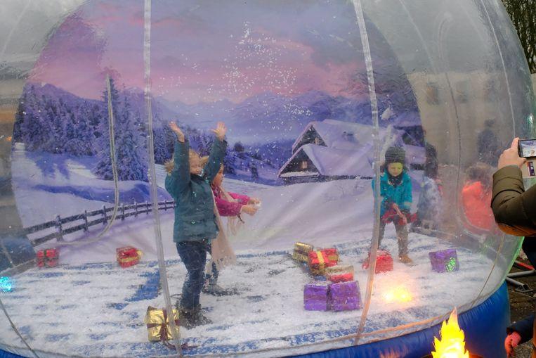 Een hele namiddag waren kinderen aan het feest in Deurne
