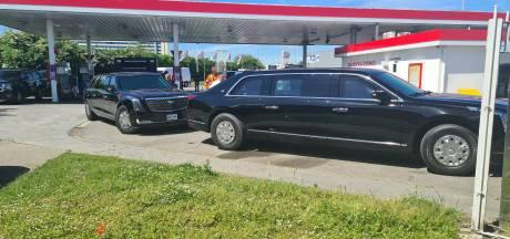 """""""La Bête"""" a atterri en Belgique: la Cadillac blindée du président Biden repérée à Zaventem"""