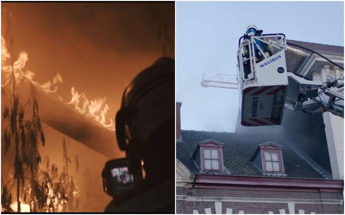 Voor de woningbrand in een Gentse wietplantage uit aflevering één van de fictiereeks 'Onder vuur' haalden de makers de mosterd bij een waargebeurde case uit de reportagereeks 'Helden van hier'.
