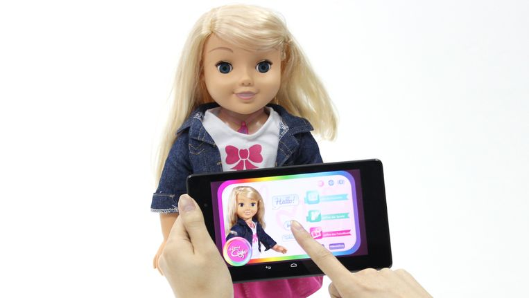 De pop die in opspraak is geraakt Beeld  Google Play Store