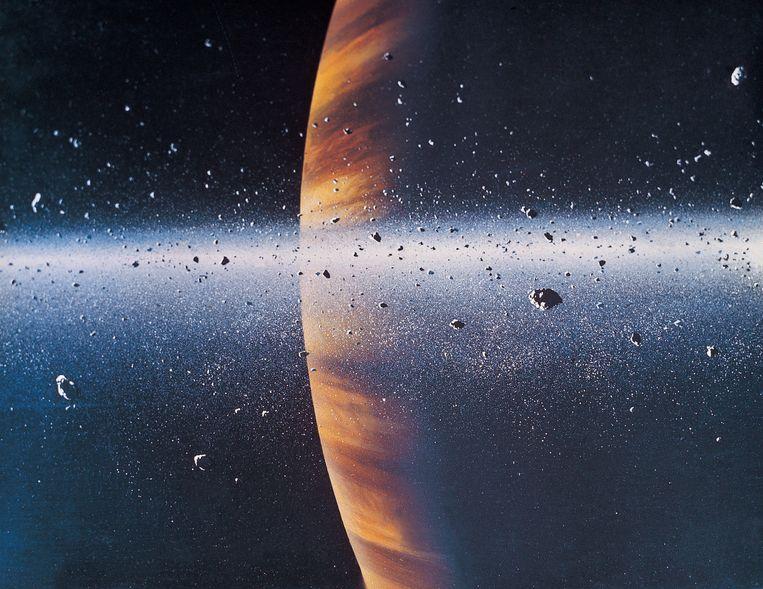 Saturnus.  Beeld Thinkstock