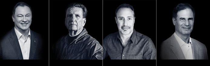 Michael Lopez-Alegria, Larry Connor, Mark Pathy et Eytan Stibbe