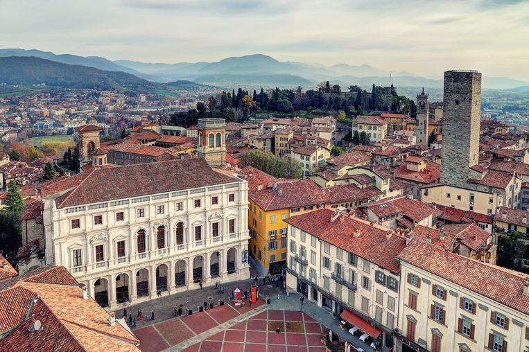 Piazza Vecchia, Bergamo. Beeld Getty Images