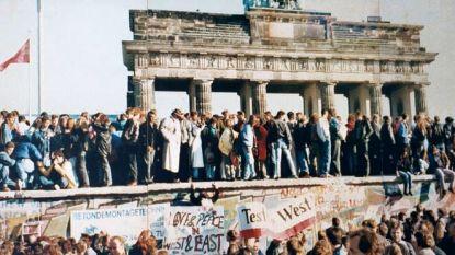 Het einde van een tijdperk: vandaag is de Berlijnse muur even lang weg als hij de Duitse hoofdstad verdeelde