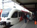 Merwedelingelijn, trein bvan Arriva in station Dordrecht. Foto bij opening 001_DD van maandag 26-07