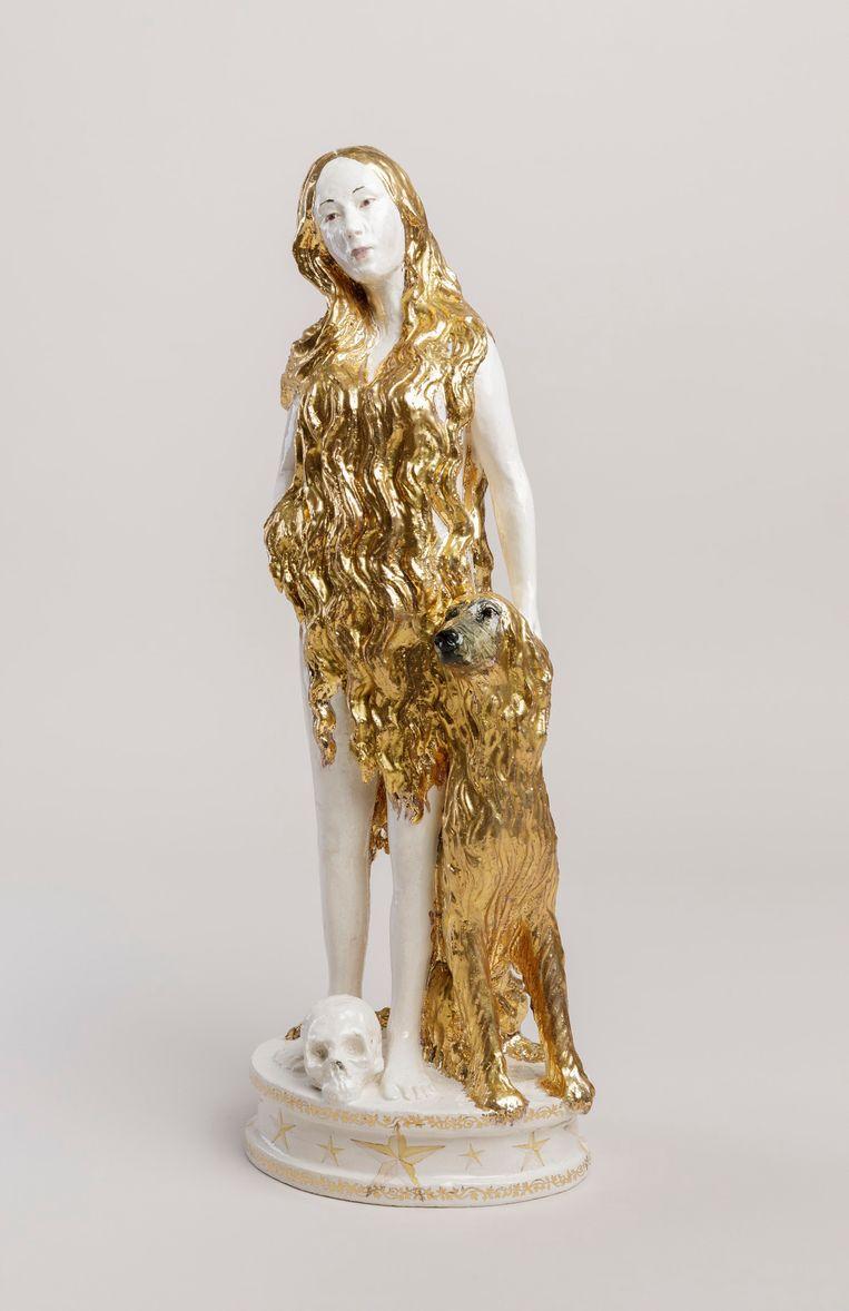 Claire Partington - Magdalena series: Delilah & Samson (2020), Galerie Koch x Bos Gallery  Beeld BEELD GALLERY VIEWER