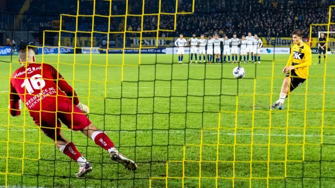 Onbevangen Van Schuppen toont stalen ballen aan NAC-publiek: 'De trainer was benieuwd of ik het ook durfde in een vol Rat Verlegh'