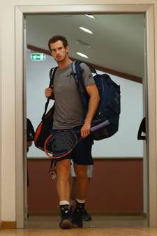 Afgang voor Andy Murray in Rome