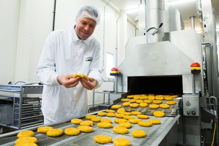 Algemeen directeur Willem van Weede van Vivera. Vivera is de grootste Nederlandse producent van vleesvervangers.  Beeld Hollandse Hoogte / Vincent Jannink
