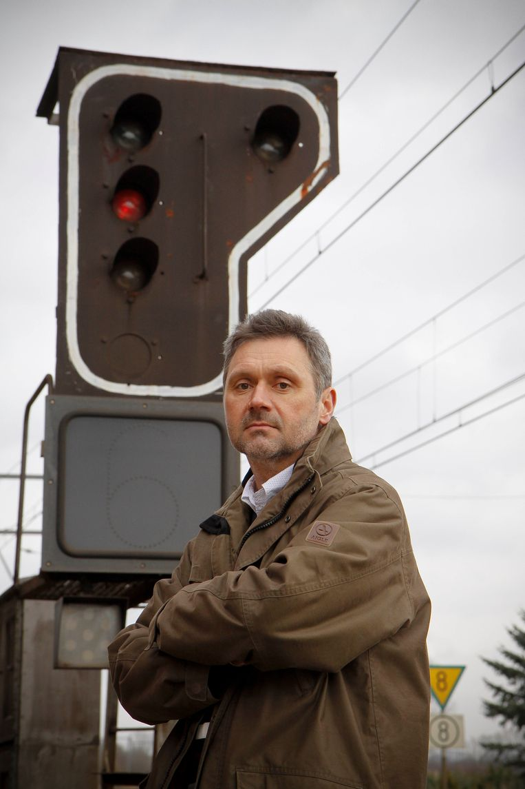 Luc Pauwels, OVS. Beeld PHOTO NEWS