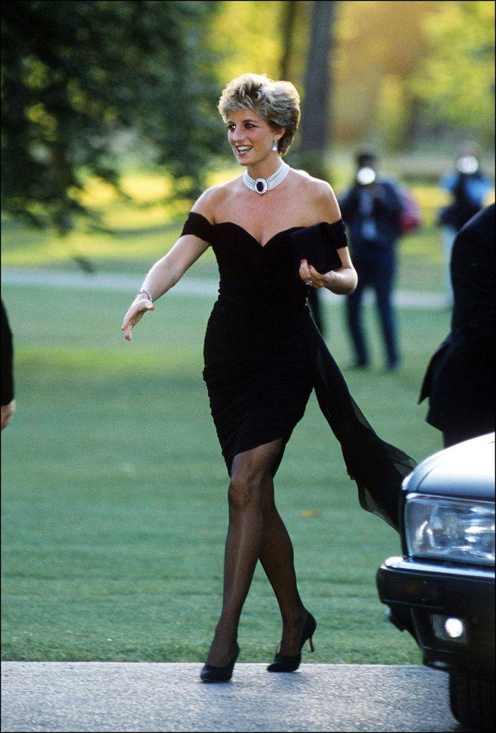 Prinses Diana in de 'revenge dress'.