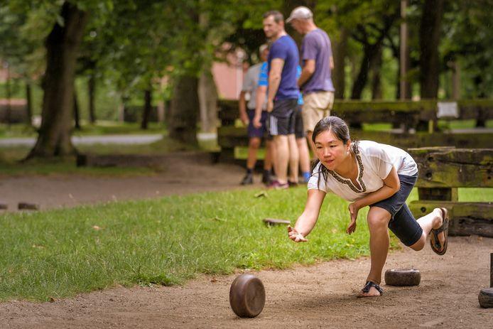 Illustratiebeeld: krulbol spelen.