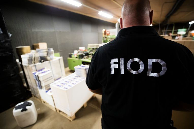Doorzoeking FIOD, ter illustratie. Beeld Hollandse Hoogte /  ANP