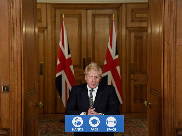 Johnson kondigt tweede lockdown aan voor Verenigd Koninkrijk