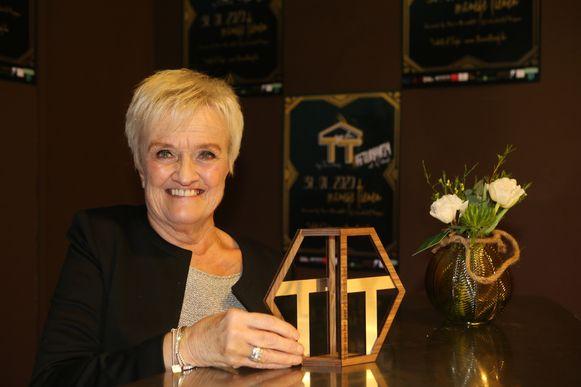Lydia Peeters werd verkozen tot Icoon van Tienen