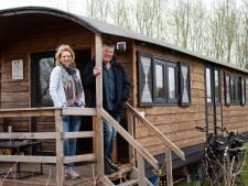 Ondanks de kou is het genieten op de camping: 'Dé plek om te ontspannen'