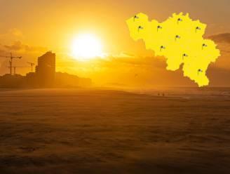 Tot 22 graden vandaag, maar KMI waarschuwt met 'code geel' voor rukwinden