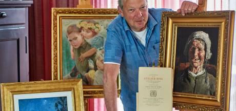 Graf beroemde schilder gered dankzij inzet Veghelaar