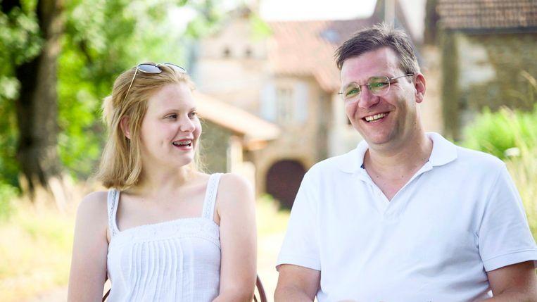 Frederik en Anne-Sophie in de eerste aflevering van 'Goed verlof' bij VTM. Beeld RV