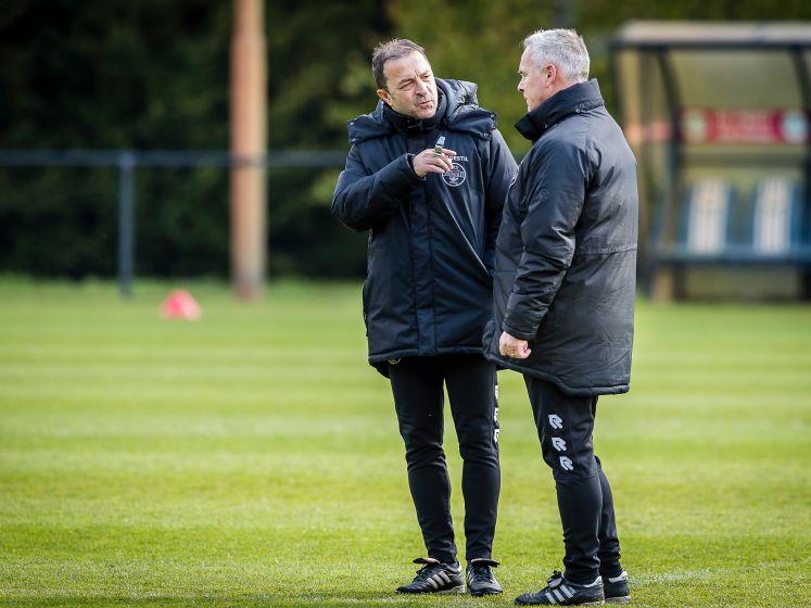 Petrovic blikt vooruit op treffen met PSV: 'Als wij een goede dag hebben, dan gaan ze het moeilijk krijgen'
