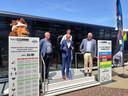De roadshow werd plechtig voorgesteld door minister van sport Ben Weyts.