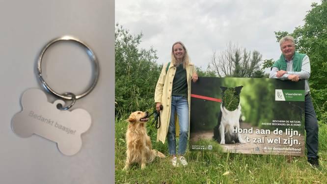 Sleutelhanger voor baasjes die hondenpoep opruimen, boete voor wie het laat liggen