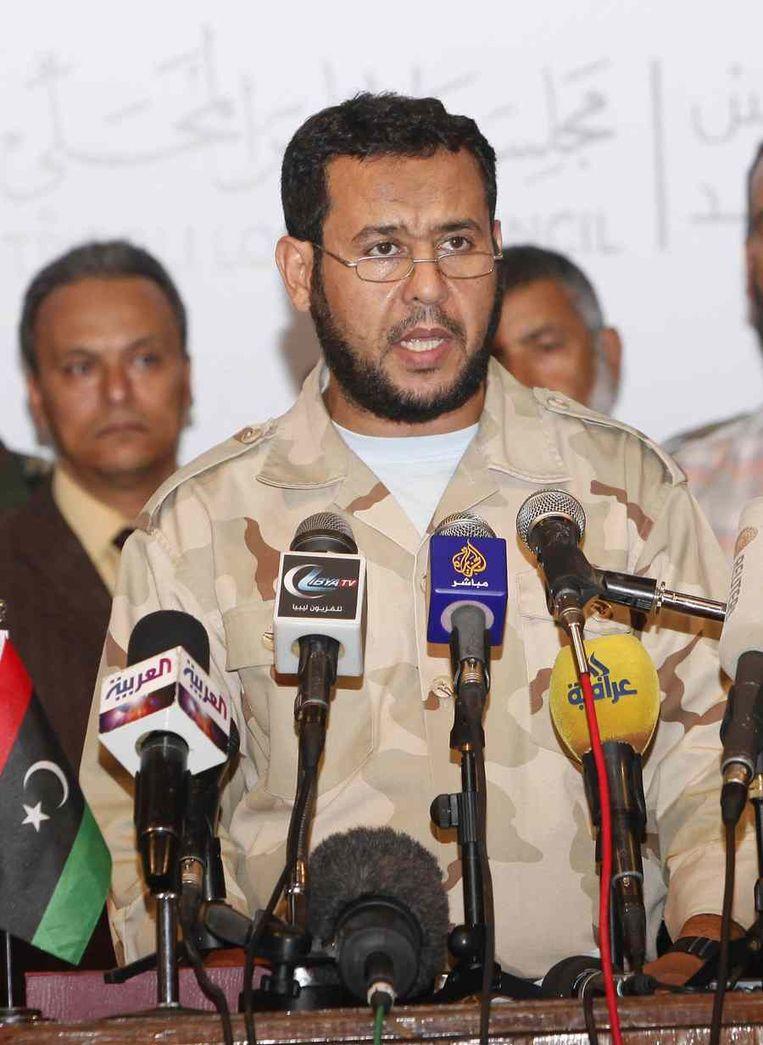 Abdel Hakim Belhadj Beeld reuters