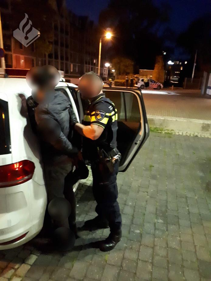 Pepperspray gebruikt bij arrestatie inbrekers in Tilburg