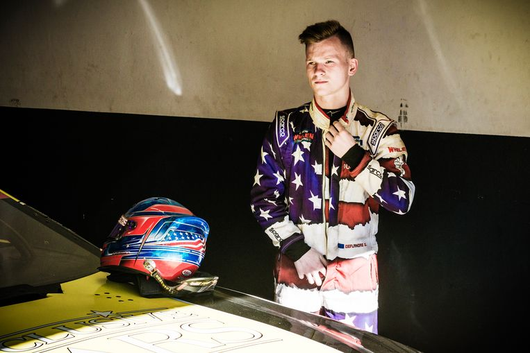 Guillaume Deflandre (22) is net vierde geworden in de Elite 2-serie. Beeld Geert Braekers