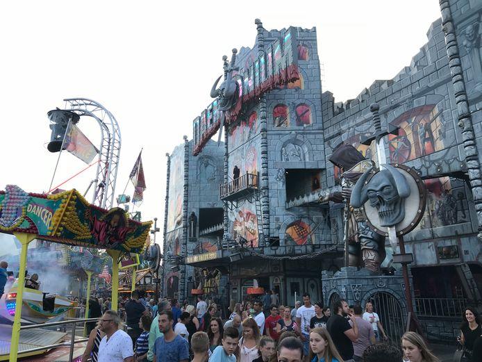 Deamonium is het grootste spookhuis van de wereld en staat nu tien dagen in Uden.