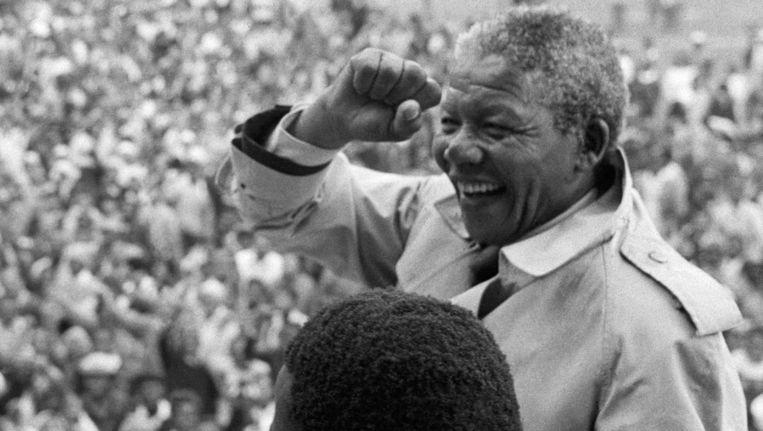 Mandela in 1993. Beeld getty