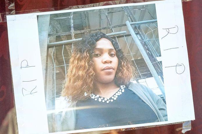 Slachtoffer Eunice Osayande (26).