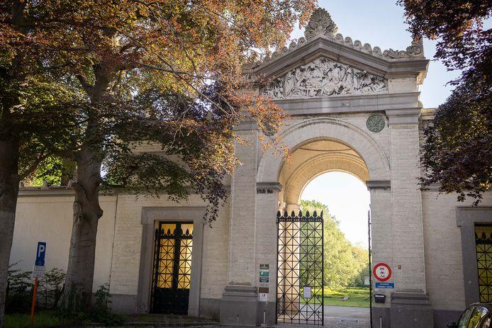 De Westerbegraafplaats in Gent.