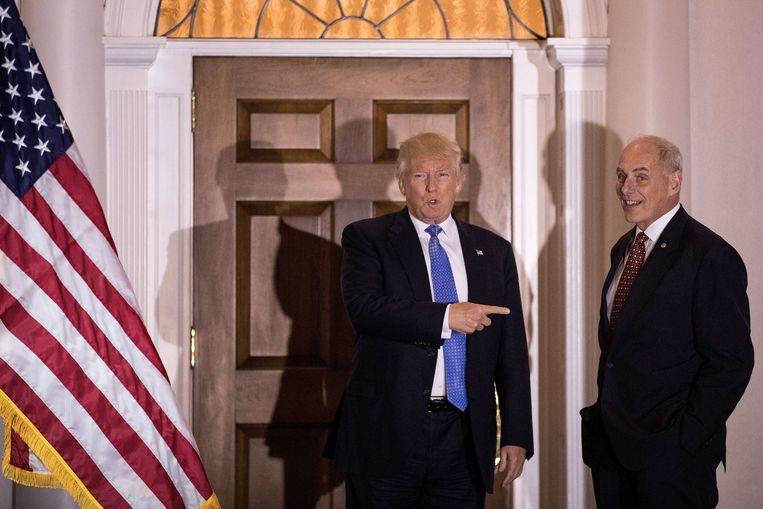 Als mogelijk alternatief voor Romney en Giuliani duikt nu een nieuwe kandidaat op: generaal b.d. John Kelly. Beeld AFP