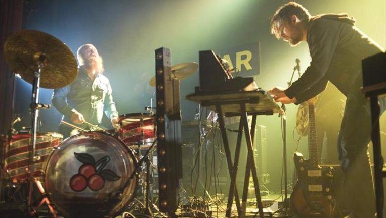 De set van het Noorse Jaga Jazzist blonk uit in improvisatie. Foto Alex Vanhee Beeld UNKNOWN