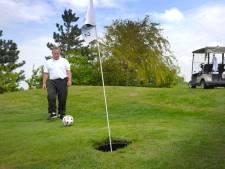 Een rondje footgolf in Middelburg met oud-prof Edwin Gorter
